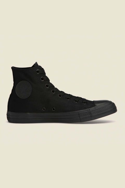 Converse Womens All Star HI Black Monochrome