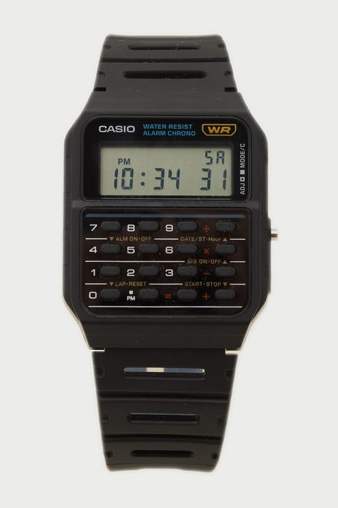 Casio CA53W-1 Black