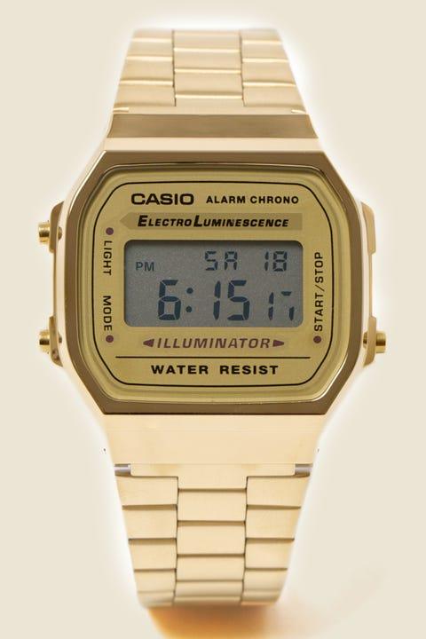 CASIO A168WG-9 Gold