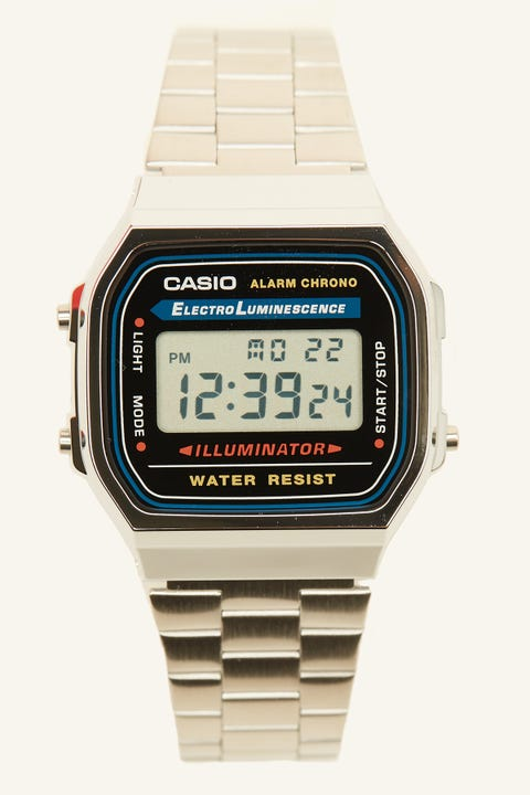 Casio Vintage Digital Illuminator Silver/Black