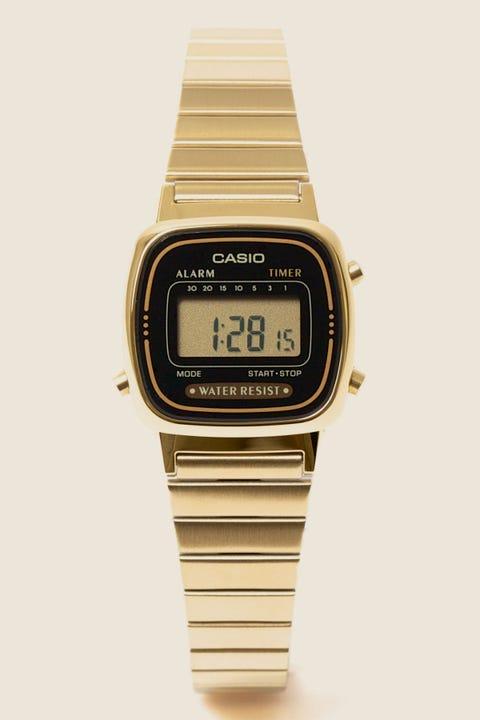 CASIO LA670WGA Digital Watch Gold/Black