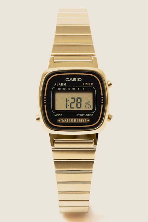 Casio LA670WGA Digital Watch Gold/Black