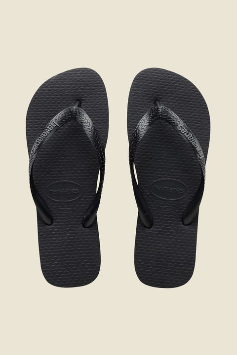 Havaianas Rubber Logo Black/Black/Grey