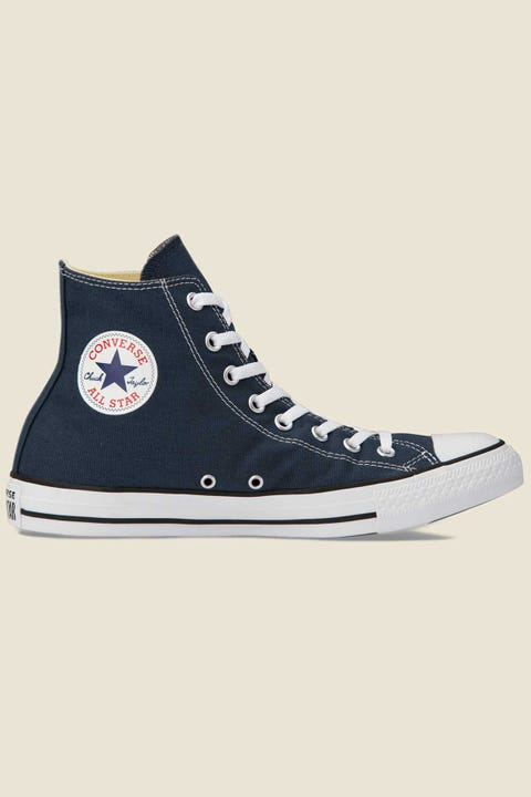 CONVERSE Mens All Star Hi Navy/White