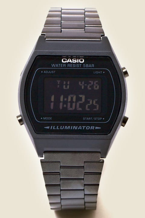 Casio Vintage Digital Illuminator Black