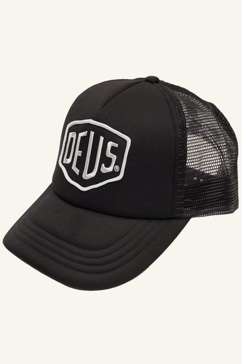Deus Ex Machina Baylands Trucker Black/White