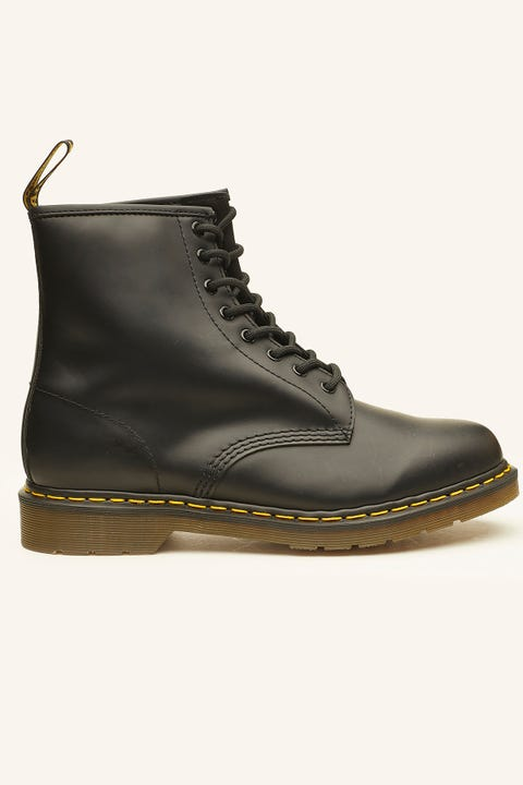 DR MARTENS Mens 1460 8 Eye Boot Black Smooth