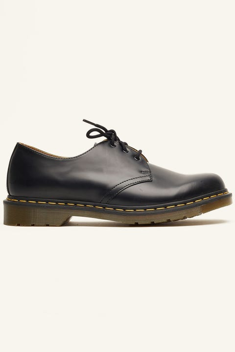 Dr Martens 1461 3 Eye Shoe Black Smooth