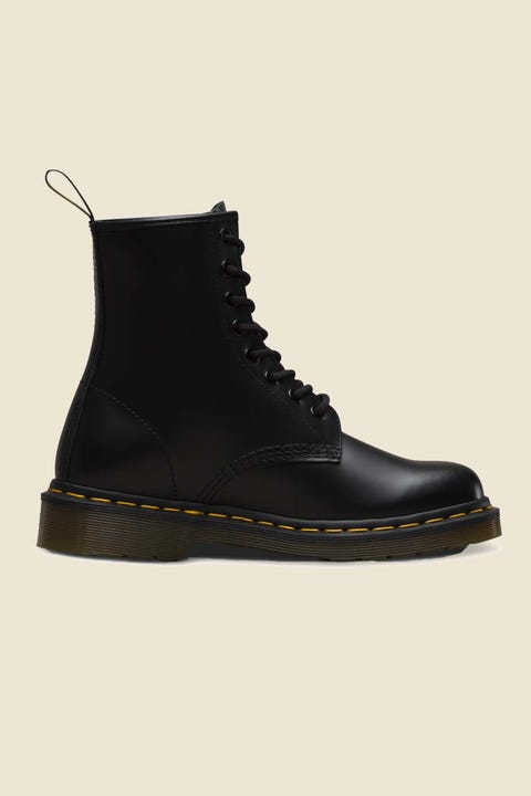 Dr Martens Womens 1460 8 Eye Boot Black Smooth