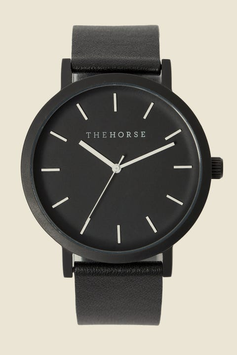 THE HORSE Original Watch Black/Black