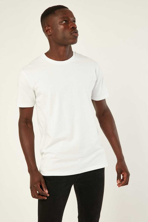 As Colour Staple Tee White