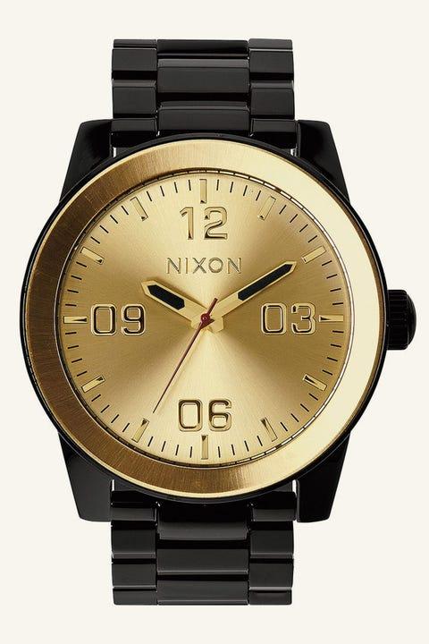 Nixon Corporal SS Black/Gold