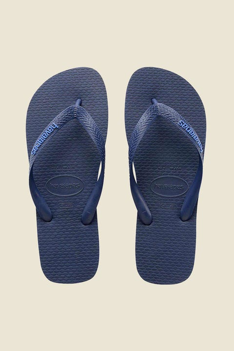 Havaianas Rubber Logo Navy Blue/Light Blue