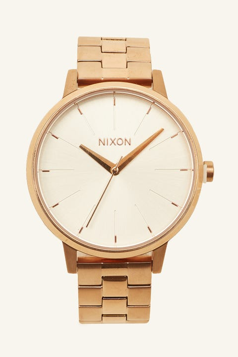 NIXON Kensington Rose Gold/White