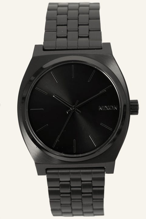 NIXON Time Teller Black