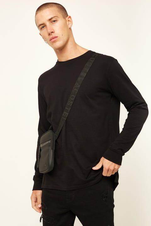 AS Colour Base Long-Sleeve Tee Black