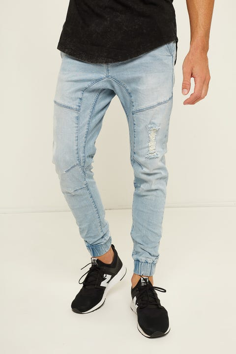 Kiss Chacey Messiah Denim Jogger Defiance Blue