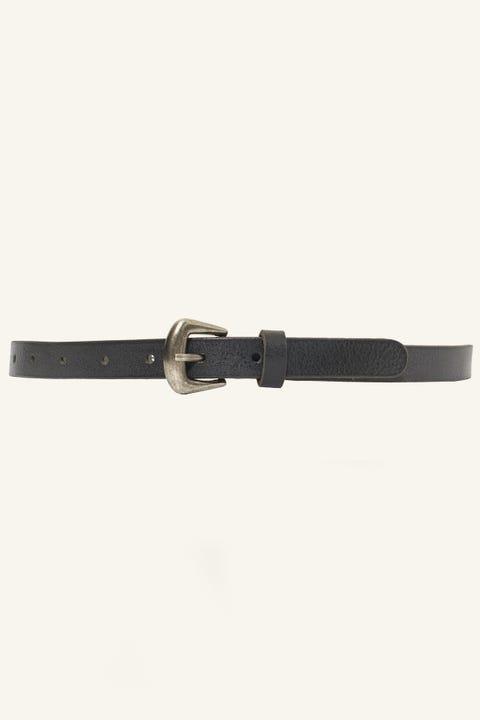 LOOP Mulberry Belt Black