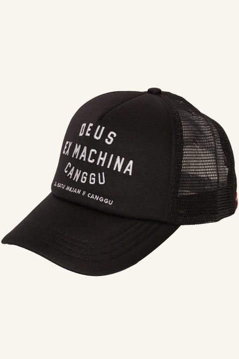 DEUS EX MACHINA Canggu Address Trucker Black