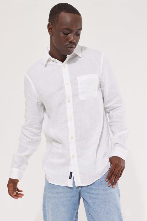 Academy Brand Hampton LS Shirt White