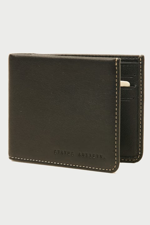 Status Anxiety Alfred Wallet Black