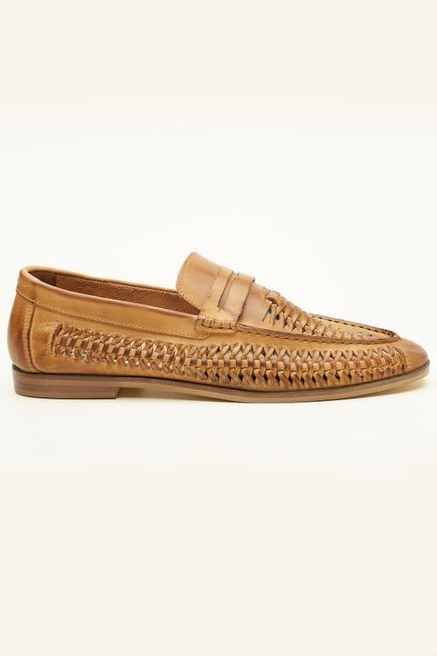 URGE Archie Shoe Tan
