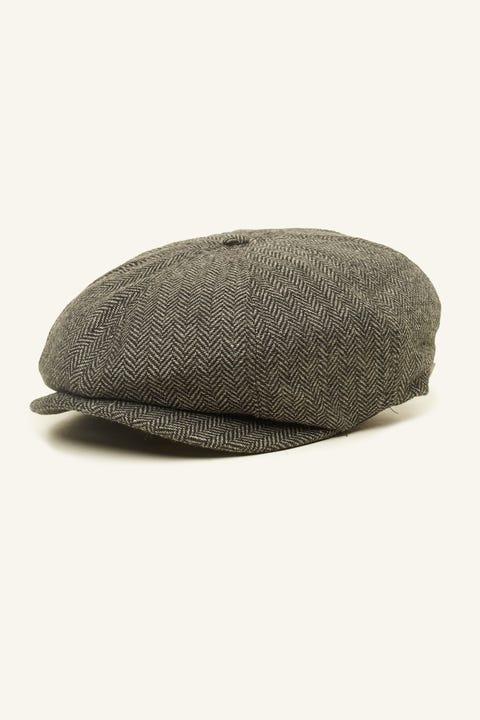BRIXTON Brood Snap Cap Grey
