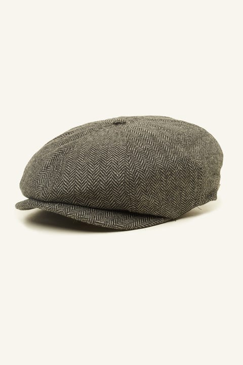Brixton Brood Snap Cap Grey