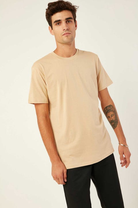 AS COLOUR Staple Tee Tan