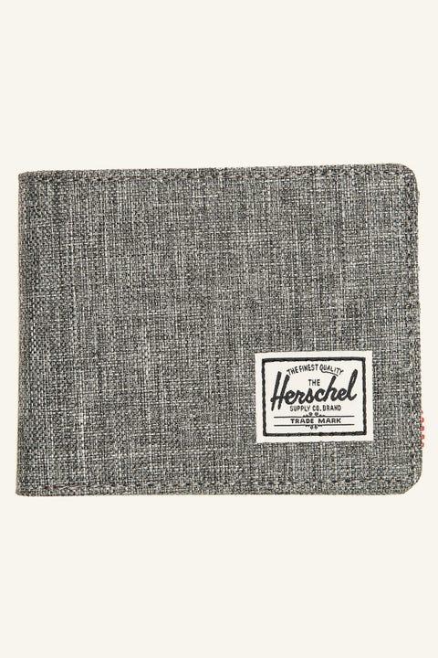 Herschel Supply Co. Roy Wallet Raven Crosshatch