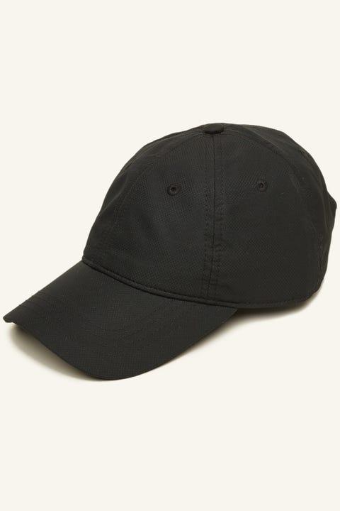 Lacoste Basic Side Croc Cotton Cap Black