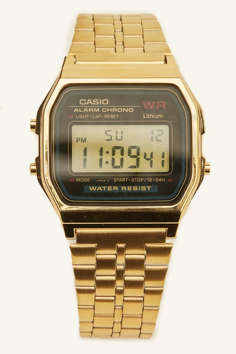 CASIO Vintage Digital Illuminator Gold/Black