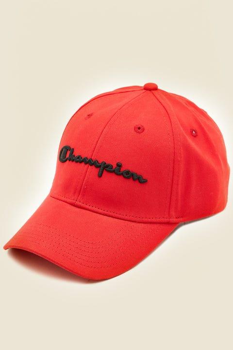 Champion Classic Twill Hat Red