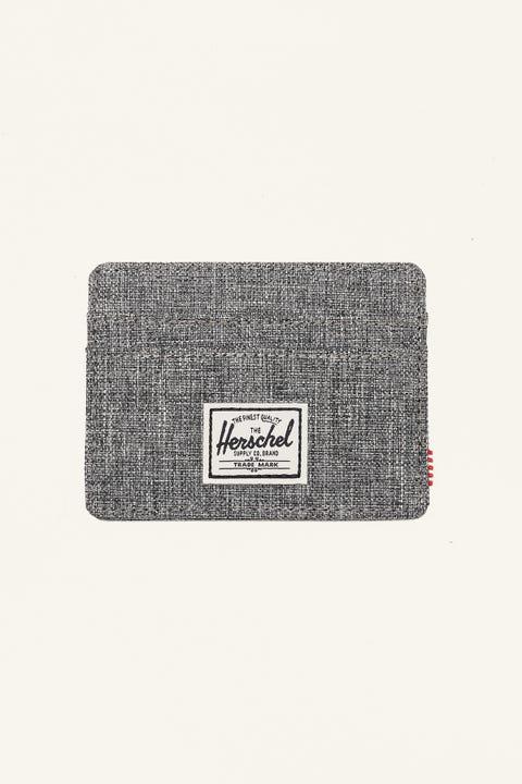Herschel Supply Co. Charlie RFID Wallet Raven Crosshatch