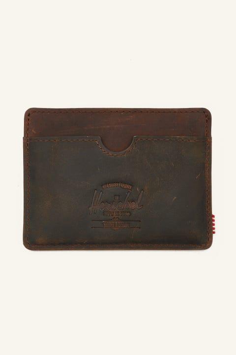 Herschel Supply Co. Charlie Wallet Leather Nubuck