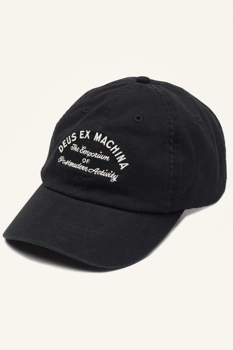 Deus Ex Machina Classic Dad Emporium Cap Black