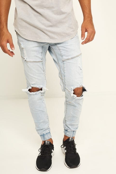 KISS CHACEY Messiah Denim Jogger Heritage Blue