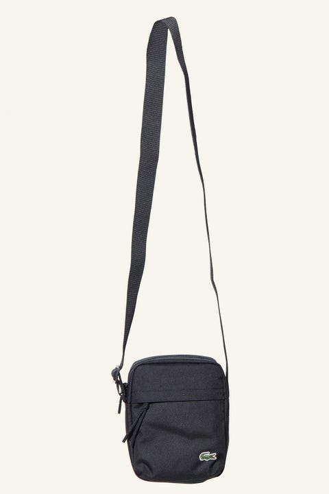 Lacoste Neocroc Vert Camera Bag Black