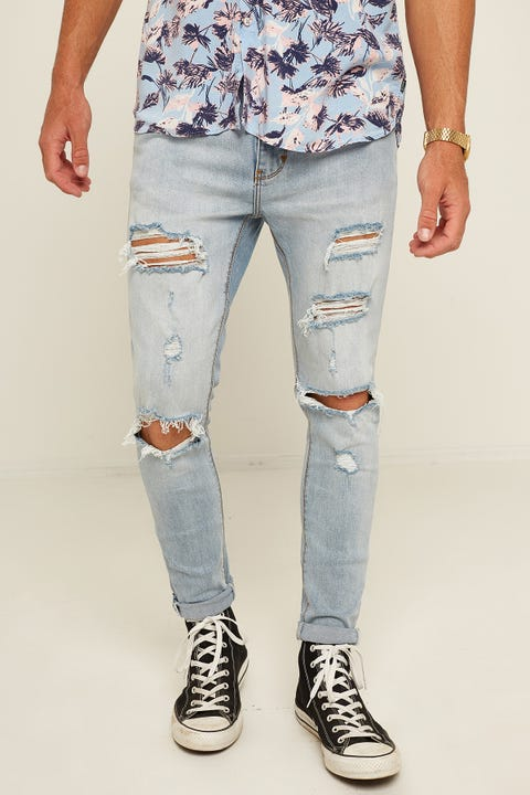 ABRAND A Dropped Skinny Jean Worn Riot