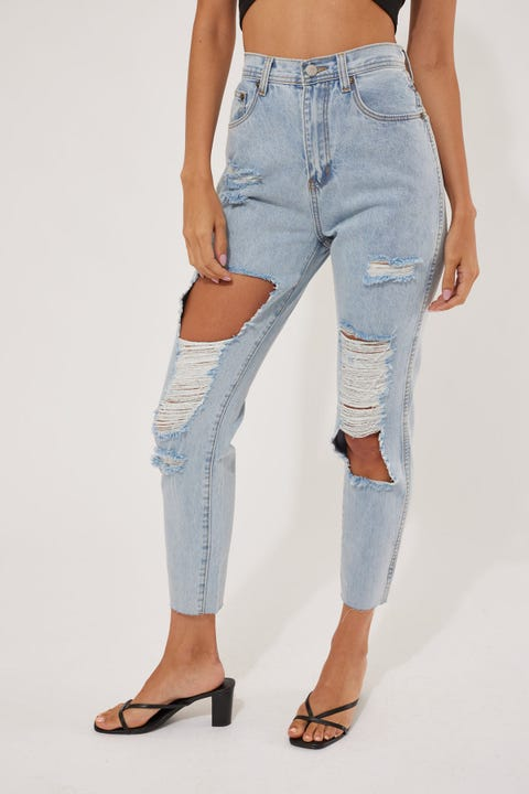 Ziggy Denim Meet My Mum Jean Clear Water Blowout