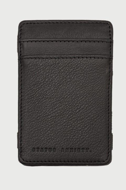 Status Anxiety Flip Wallet Black