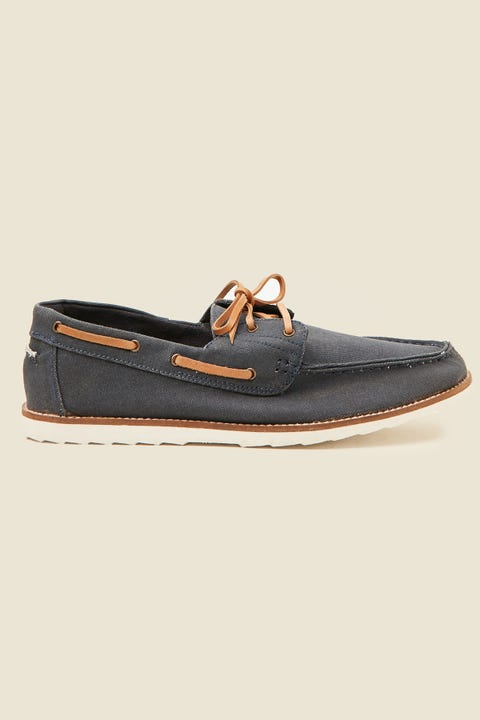 Urge Lochie Canvas Shoe Navy