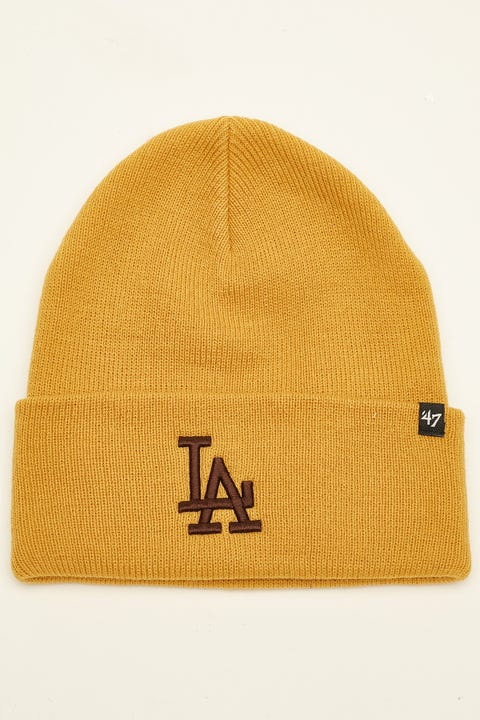 47 Brand Haymaker Beanie LA Dodgers Wheat