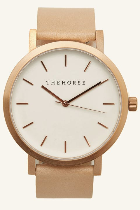 THE HORSE Original Watch Flesh/Gold