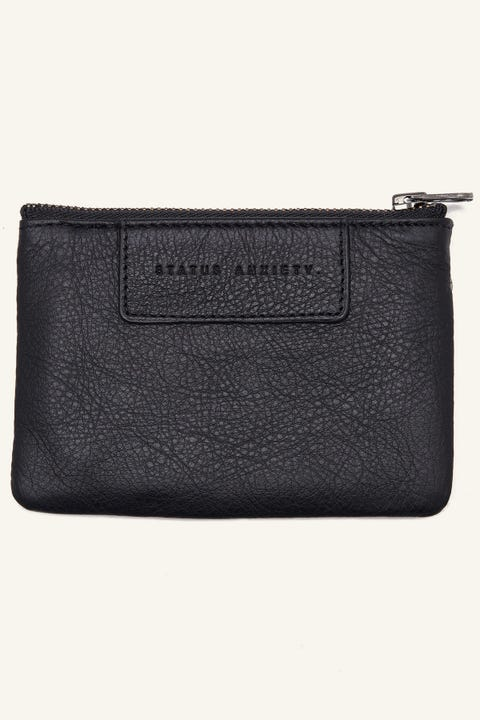 Status Anxiety Anarchy Pouch Black