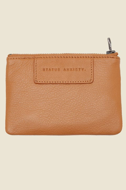 STATUS ANXIETY Anarchy Pouch Tan
