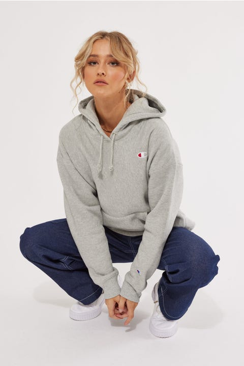 Champion Reverse Weave Hoodie Oxford Grey Heather