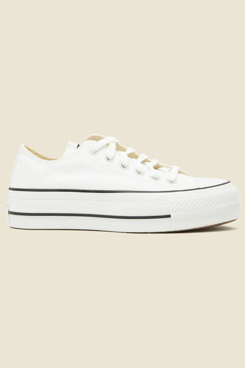 CONVERSE Womens CT All Star Lift Ox Optical White