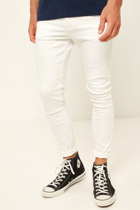 ABRAND A Dropped Skinny Jean Isle Of White