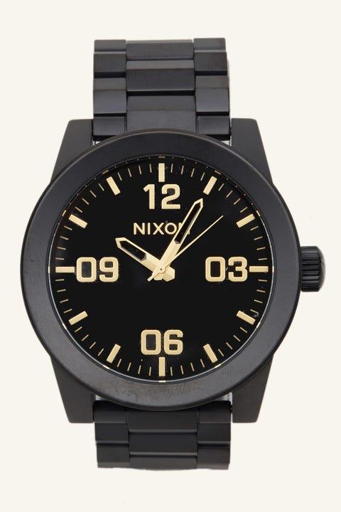 Nixon Corporal SS Matte Black/Gold